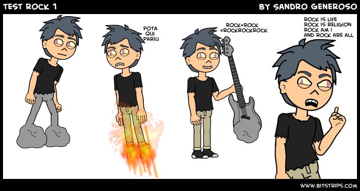 test rock 1