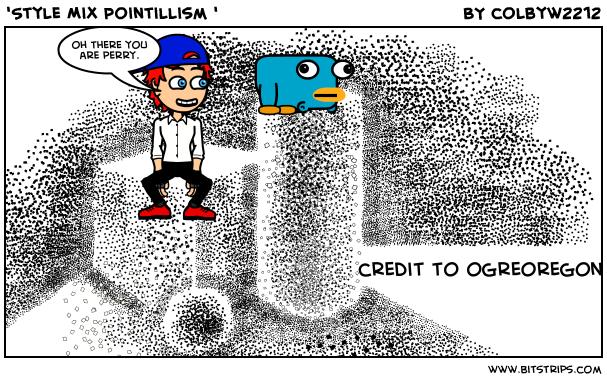 'Style Mix Pointillism '