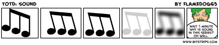 TotD: Sound