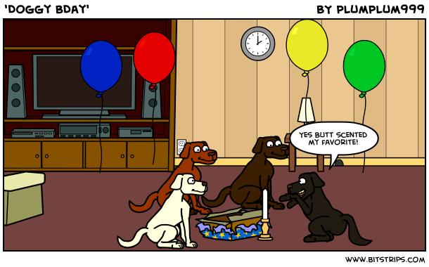 'Doggy BDay'