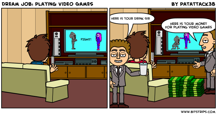 Dream Job: Playing Video Games