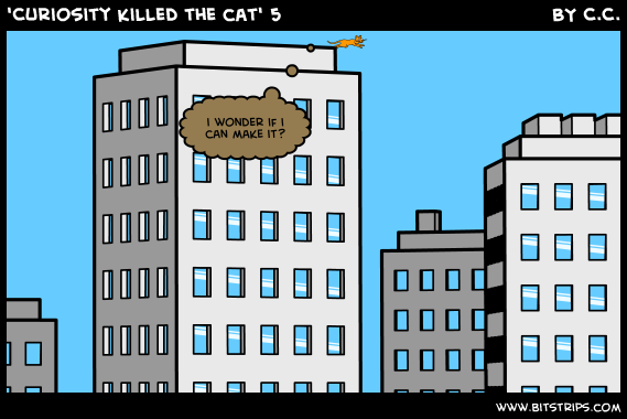 'Curiosity killed the cat' 5