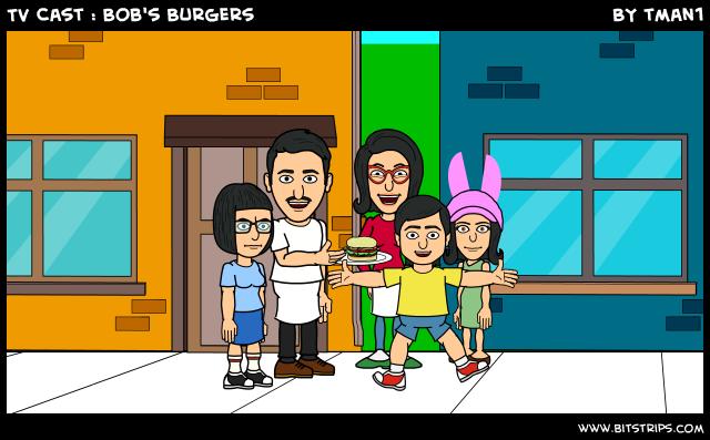 TV Cast : Bob's Burgers