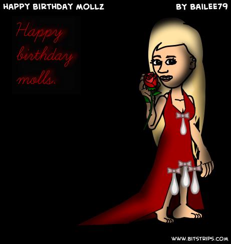 happy birthday mollz~