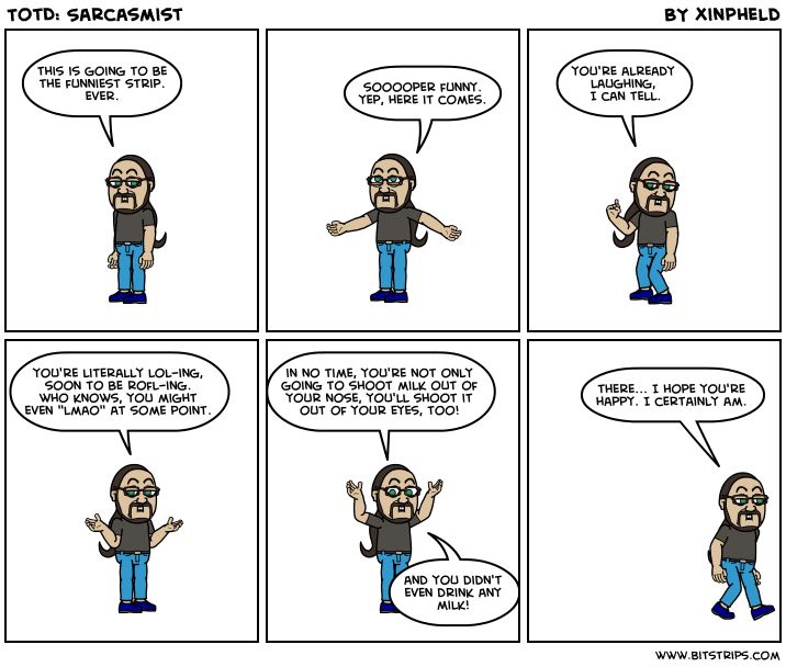 TotD: Sarcasmist