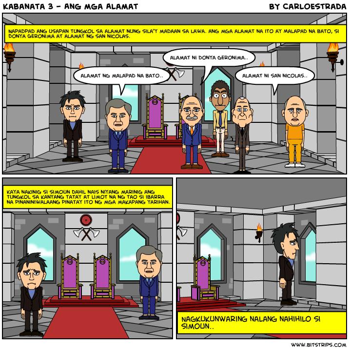 Kabanata 3 - Ang mga Alamat