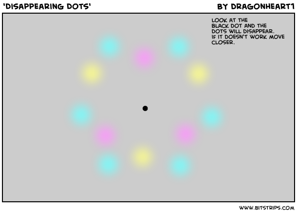 'Disappearing Dots'