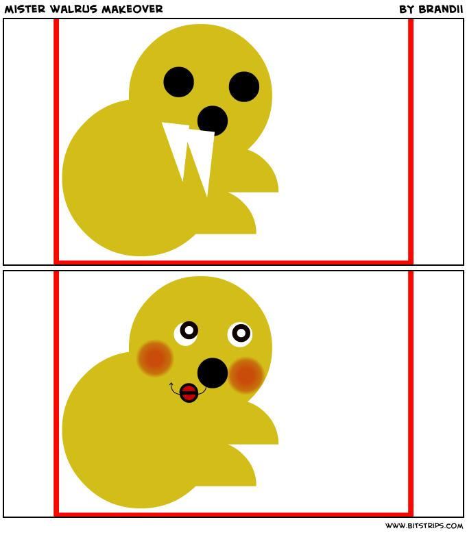 mister walrus makeover