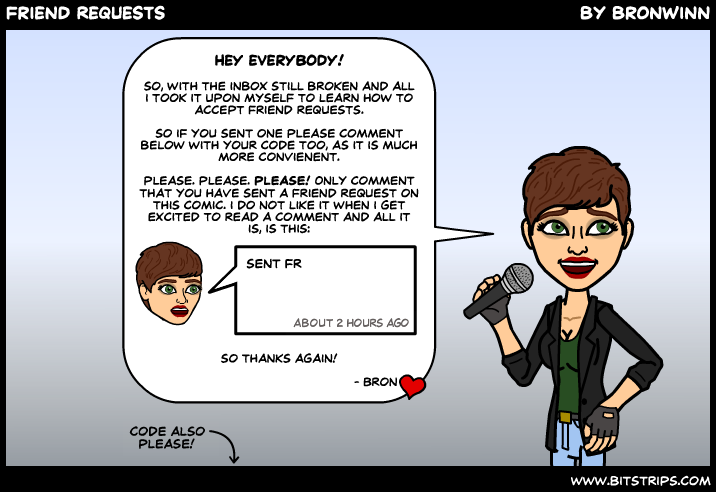 how to add friends on bitstrips
