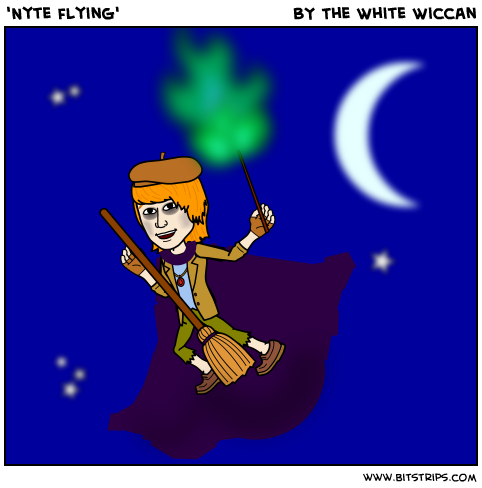 'Nyte flying'