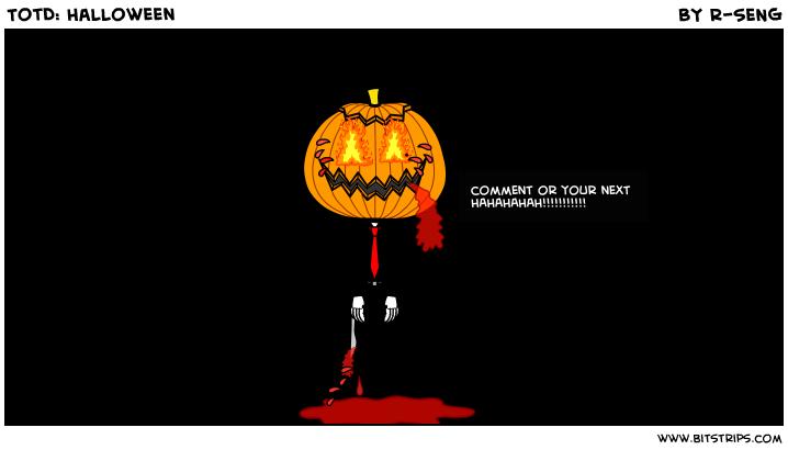 TotD: Halloween