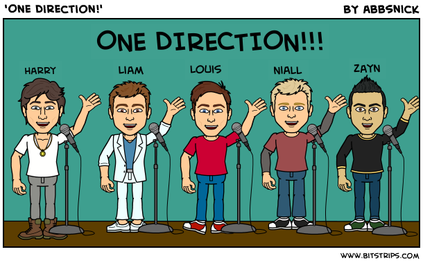 'One Direction!'