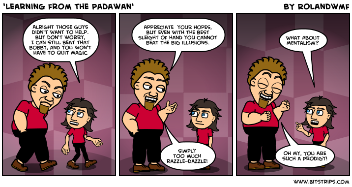 'Learning from the Padawan'