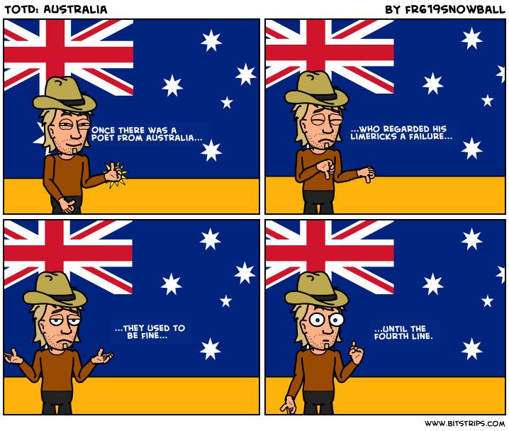 TotD: Australia