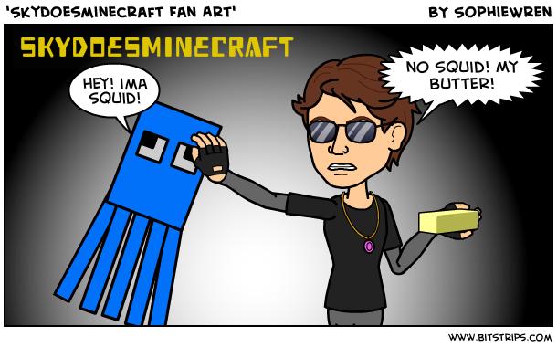 skydoesminecraft fan art bitstrips