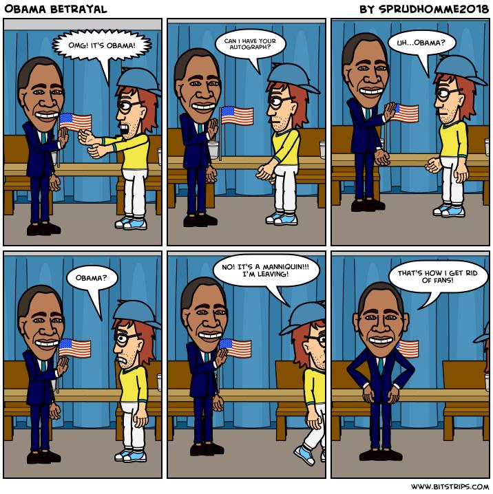 Obama Betrayal