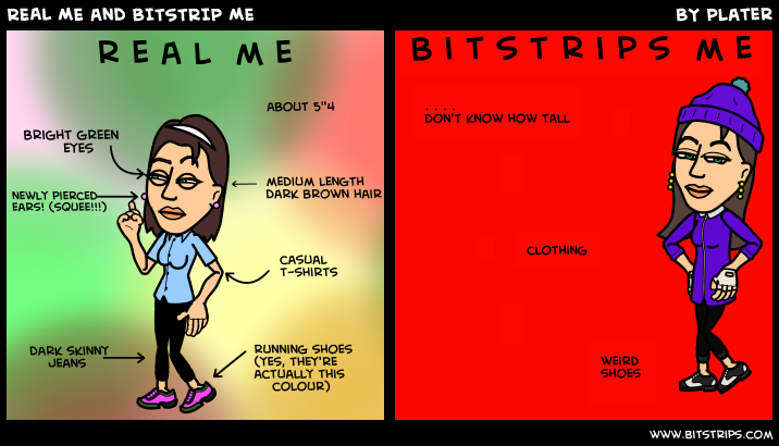 REAL ME and BITSTRIP ME