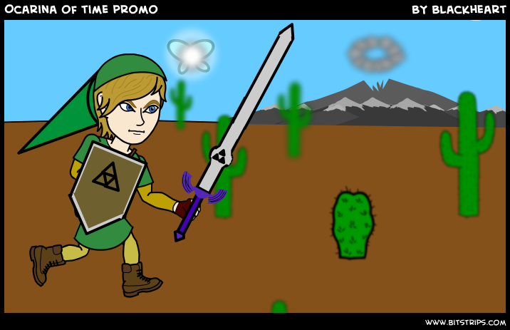 Ocarina of time promo