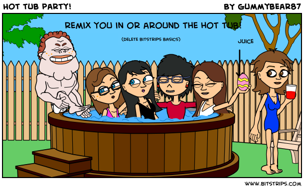 Hot tub party~!