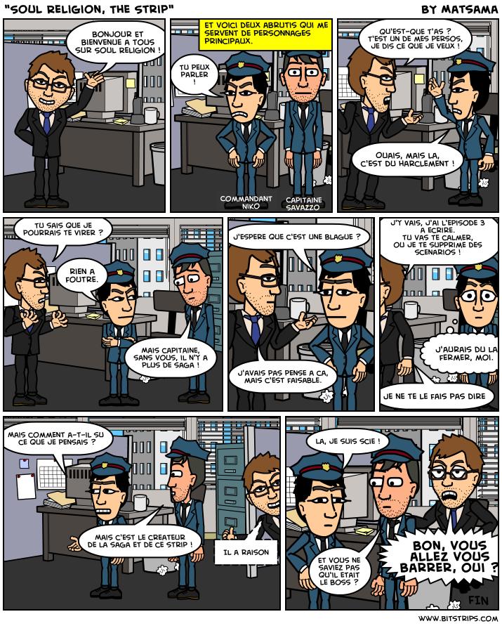 Le premier strip