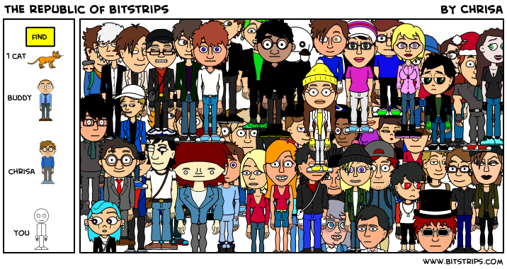 the republic of bitstrips