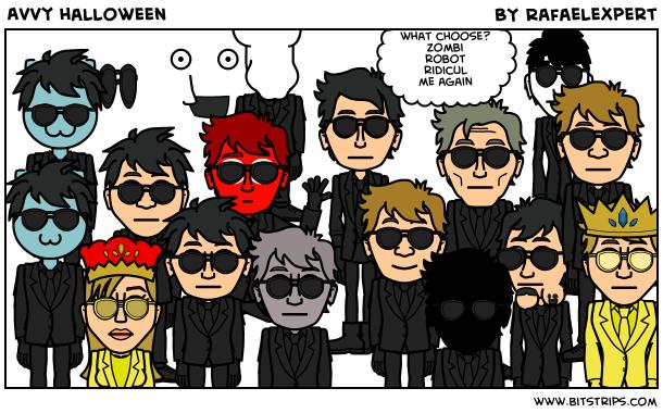 Avvy halloween