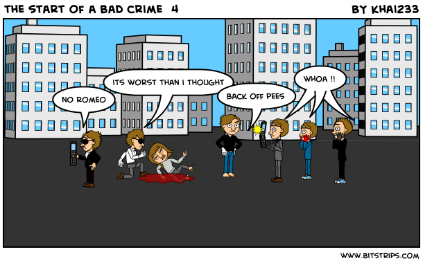 the start of a bad crime  4