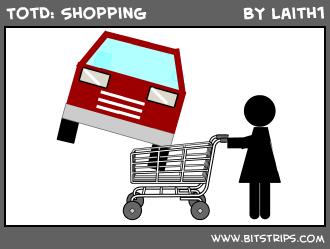 TotD: Shopping