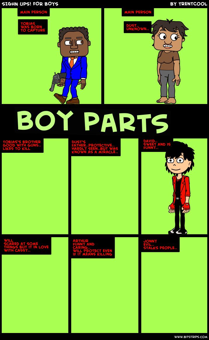 SIGHN UPS! FOR BOYS