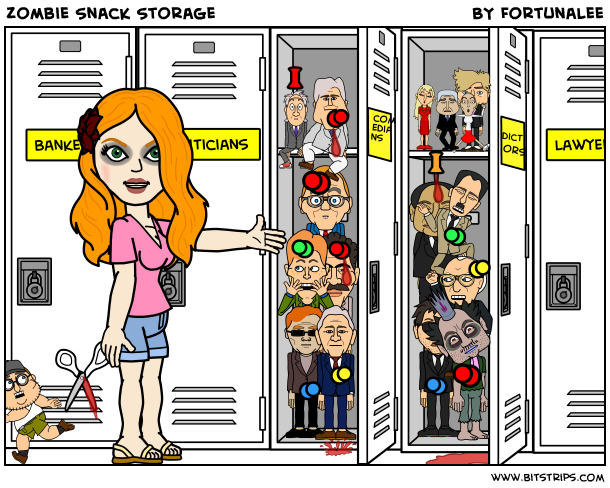 Zombie Snack Storage
