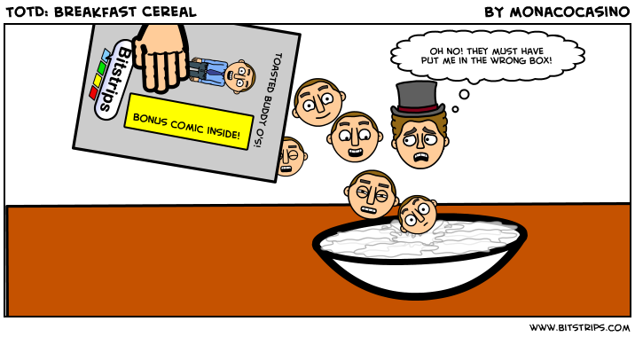 TotD: Breakfast Cereal