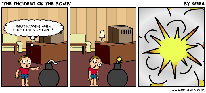 'The Incident Of The Bomb'