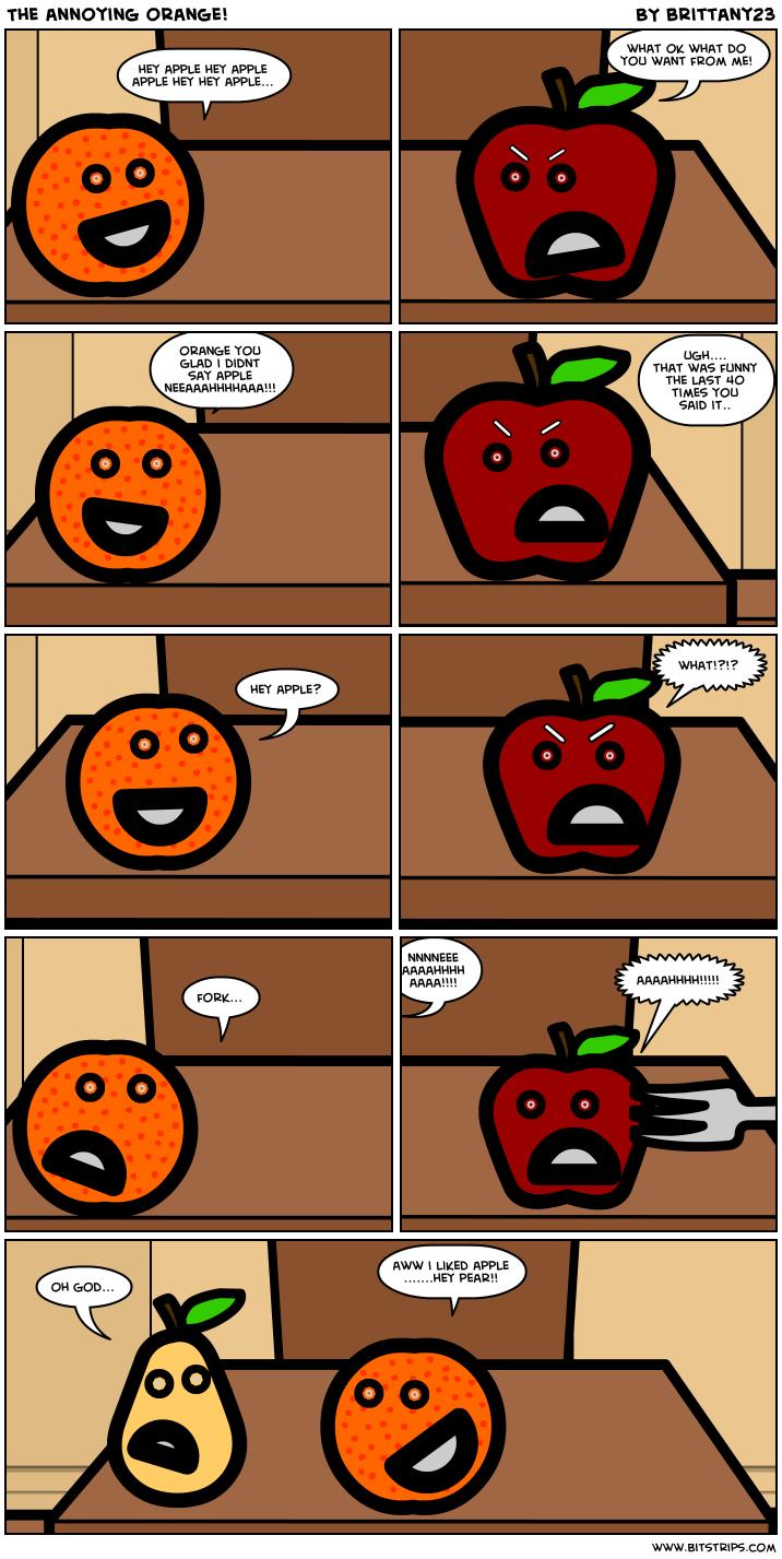 annoying orange comics - photo #23