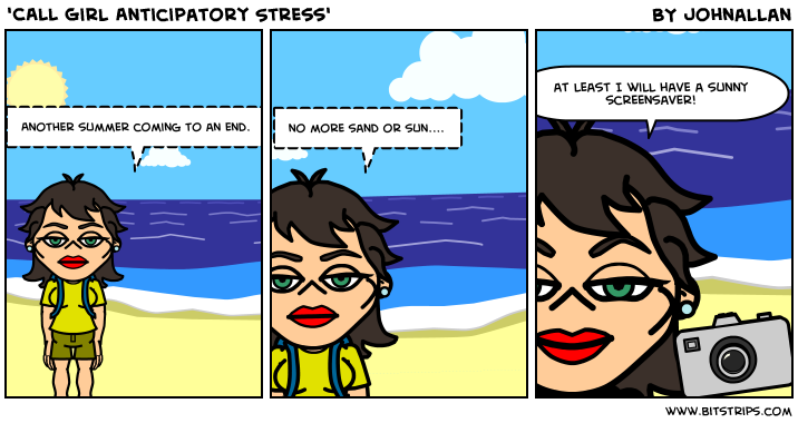 'CALL Girl Anticipatory Stress