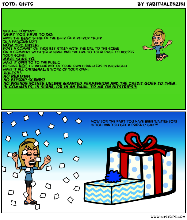 TotD: Gifts