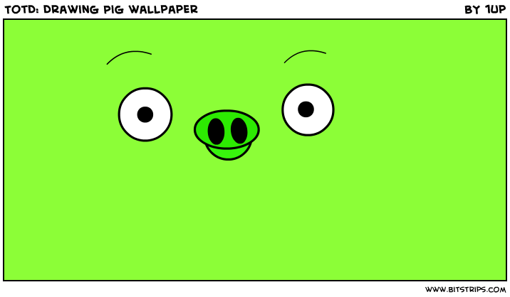 TotD: Drawing Pig wallpaper