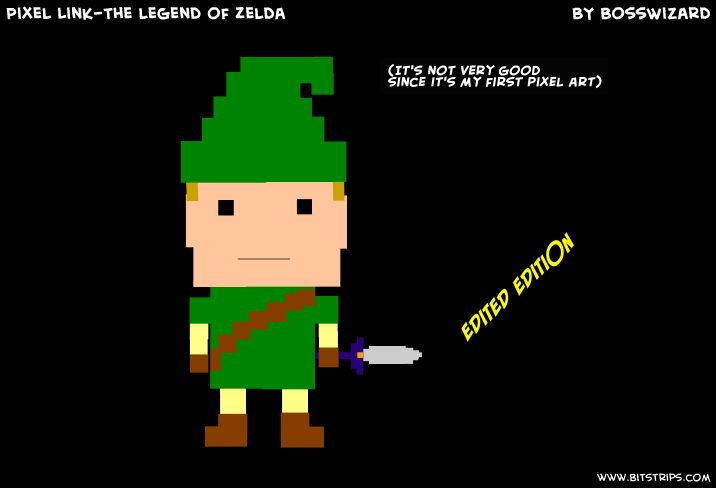 Pixel Link-The legend of Zelda