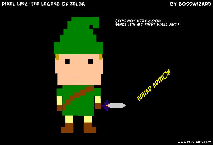 Pixel Link-The legend of Zelda