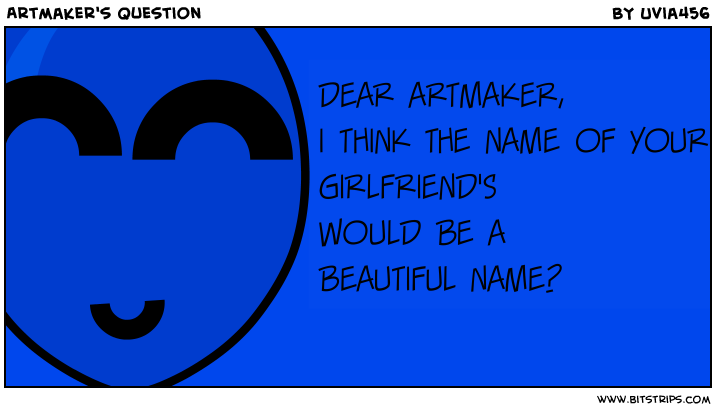 Artmaker's Question