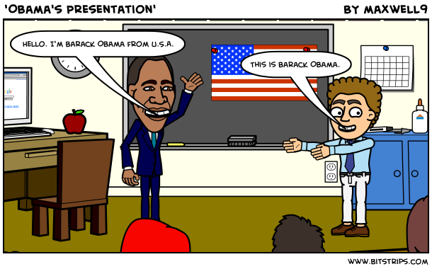 'Obama's Presentation'