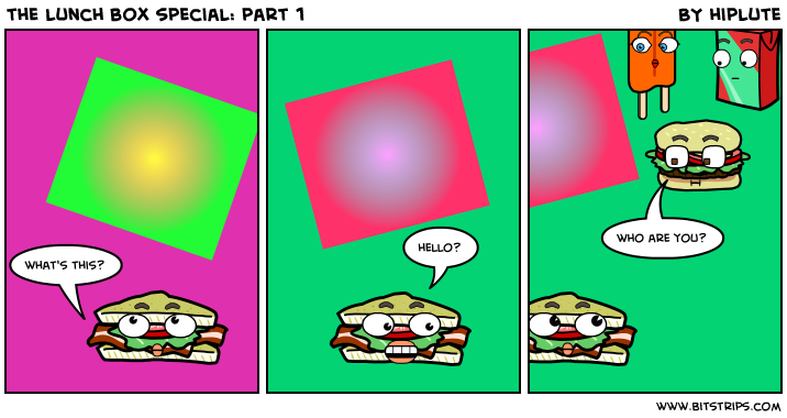 the lunch box special: part 1