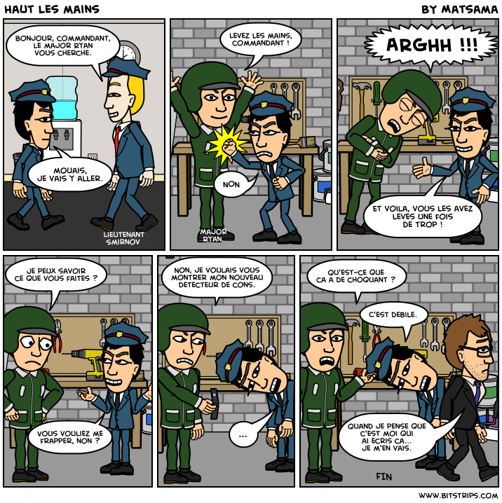 Le second strip
