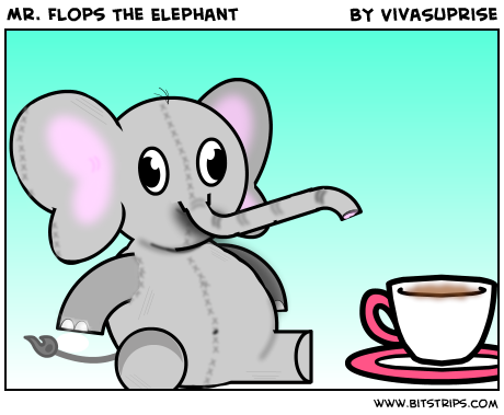 Mr. Flops The Elephant