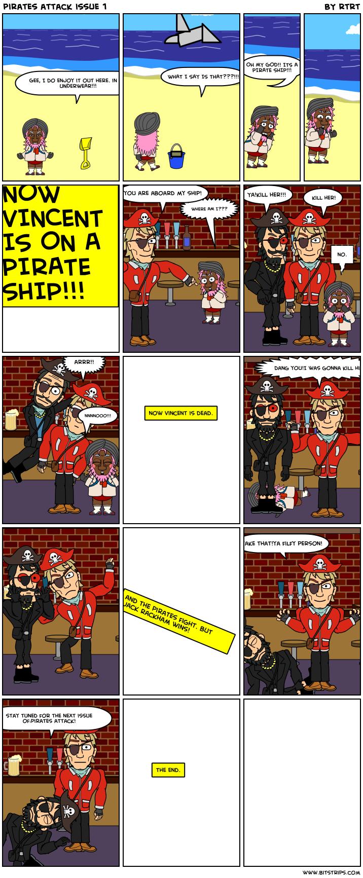 pirates attack issue 1