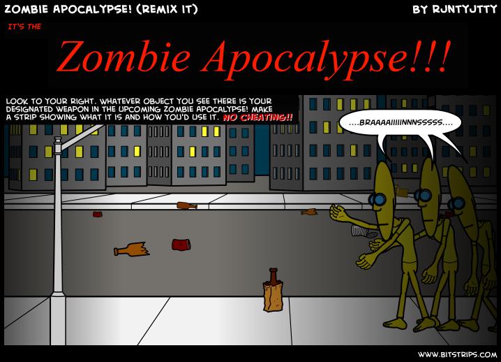 Zombie Apocalypse! (remix it)