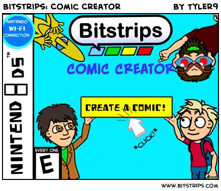 Bitstrips Comic Creator