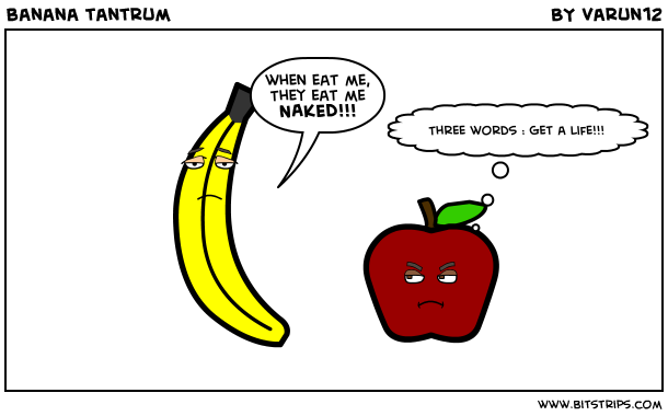 banana tantrum