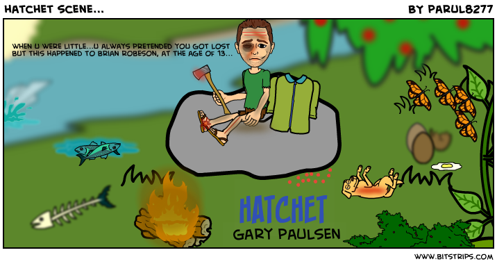 character brian robeson in hatchet by gary paulsen Hatchet chapters - hatchet by gary paulsen summary and analysis toggle navigation topics math algebra brian robeson brian robeson is a thirteen-year-old boy who to link to this hatchet important characters page.