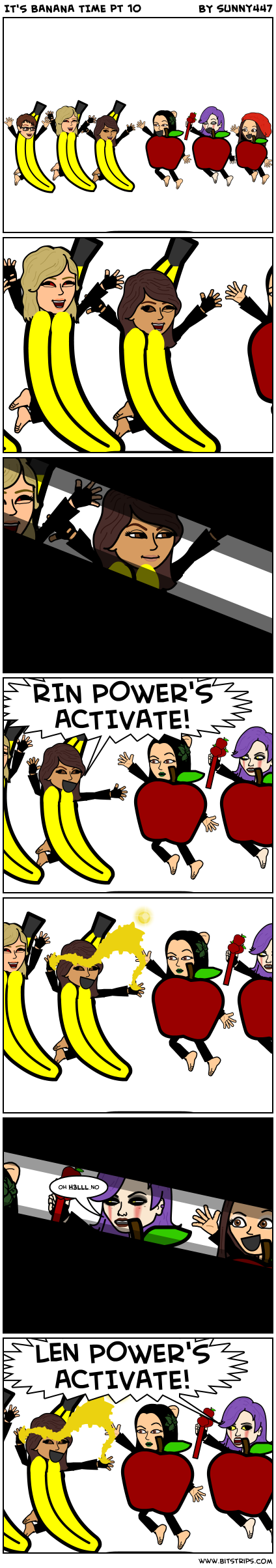 IT'S BANANA TIME pt 10