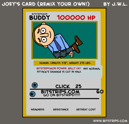 Joey's Card (Remix your own!)